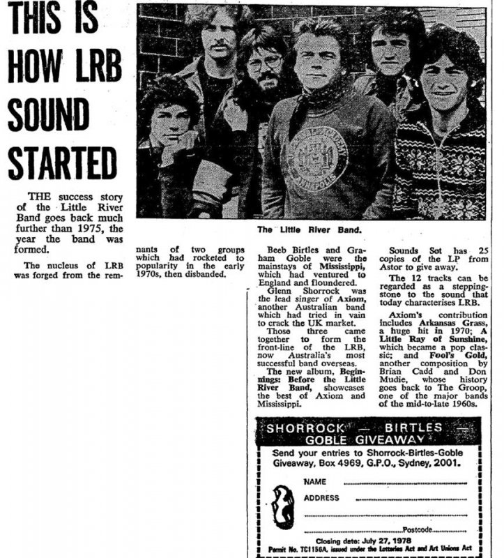 How The LRB Sound Started