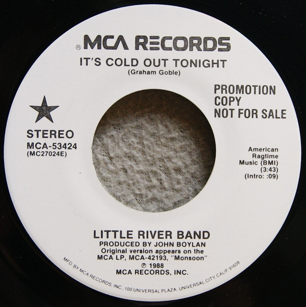 It's Cold Out Tonight Single 7